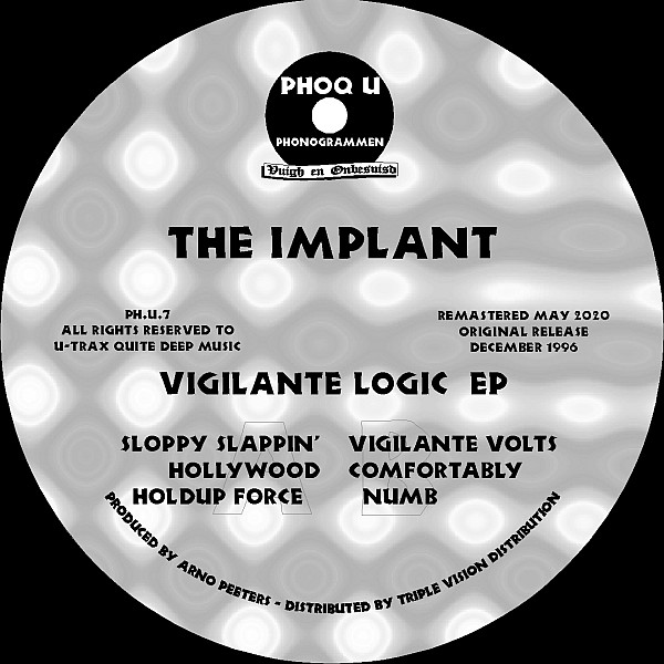 The Implant - Vigilante Logic EP